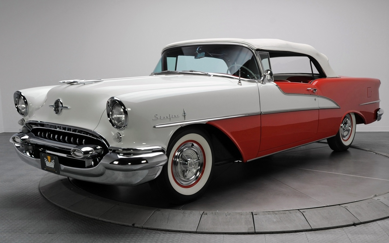 oldsmobile, starfire, 1955, luxury, convertible