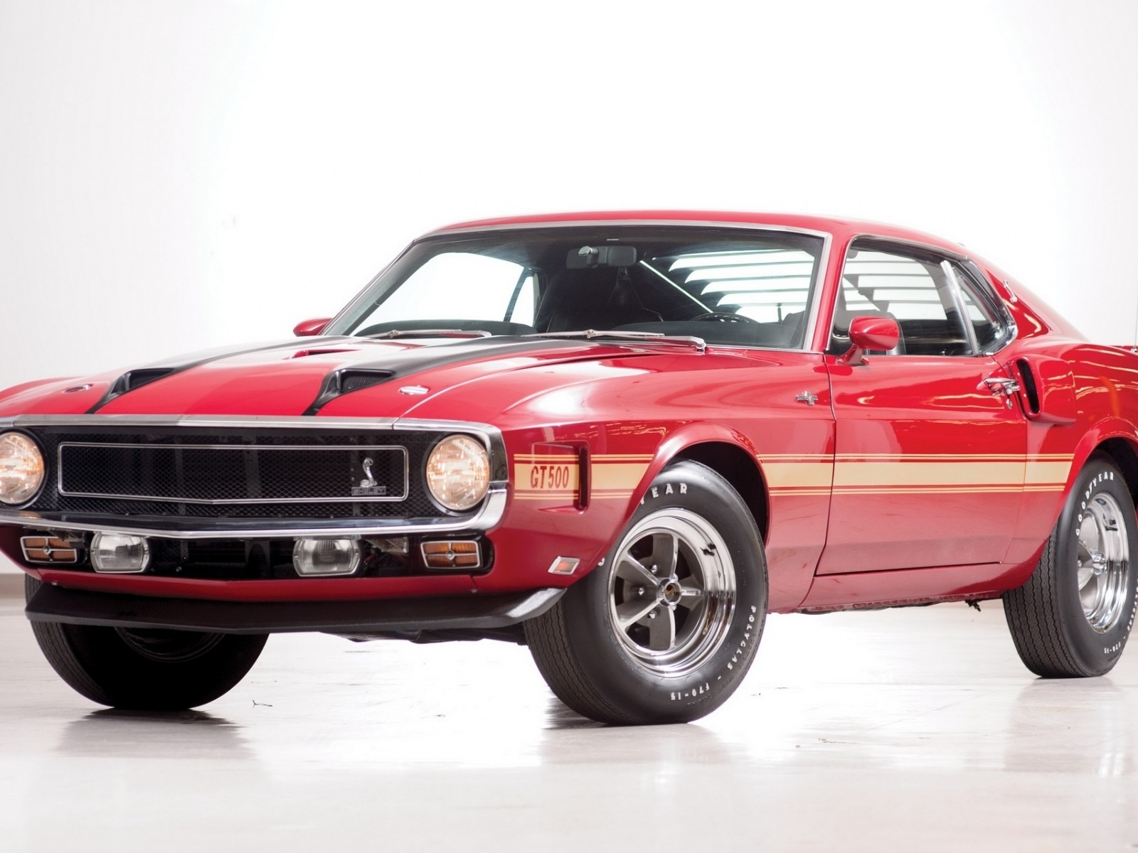 ford, mustang, gt500, 1969