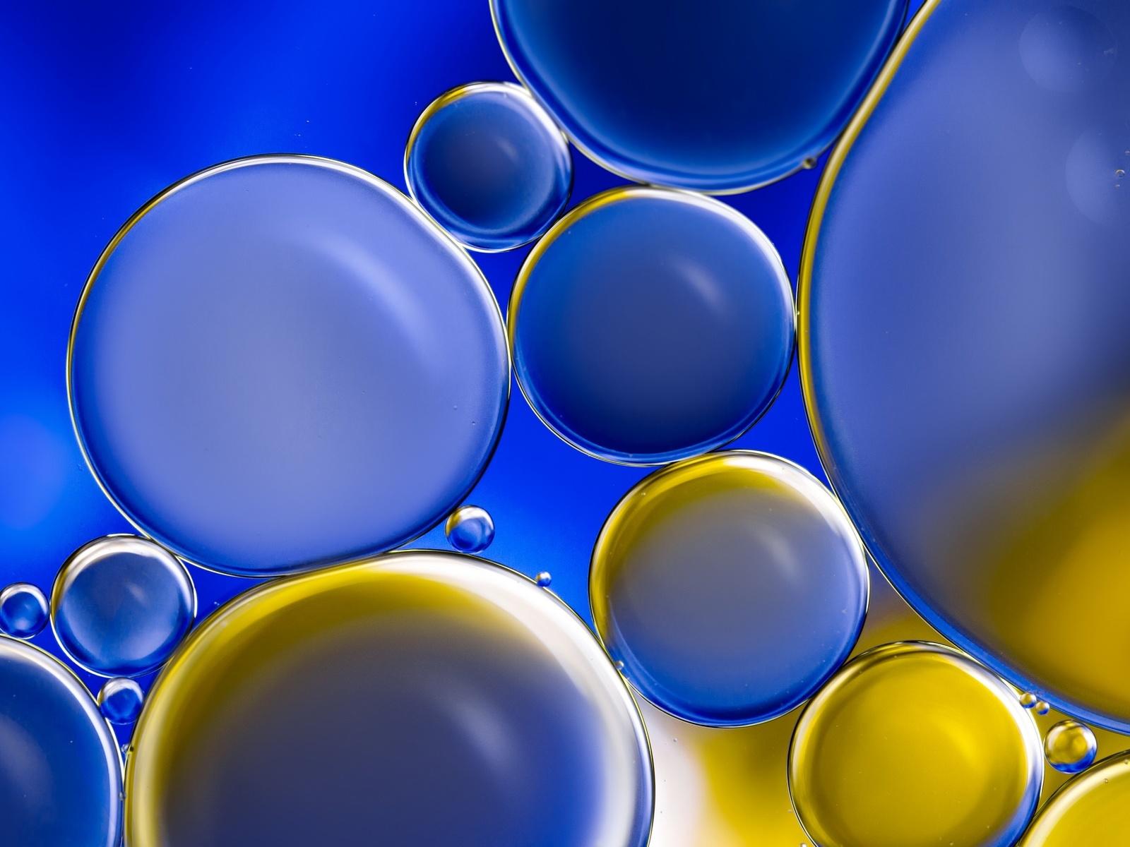 воздух, пузырьки, фон
