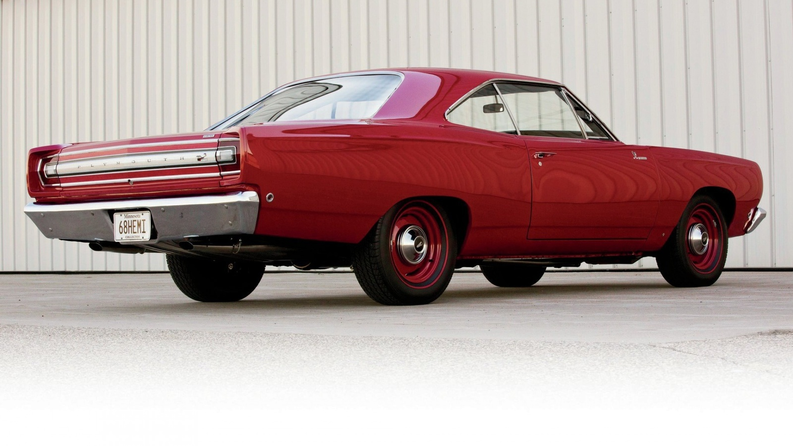 plymouth, road runner, 1968