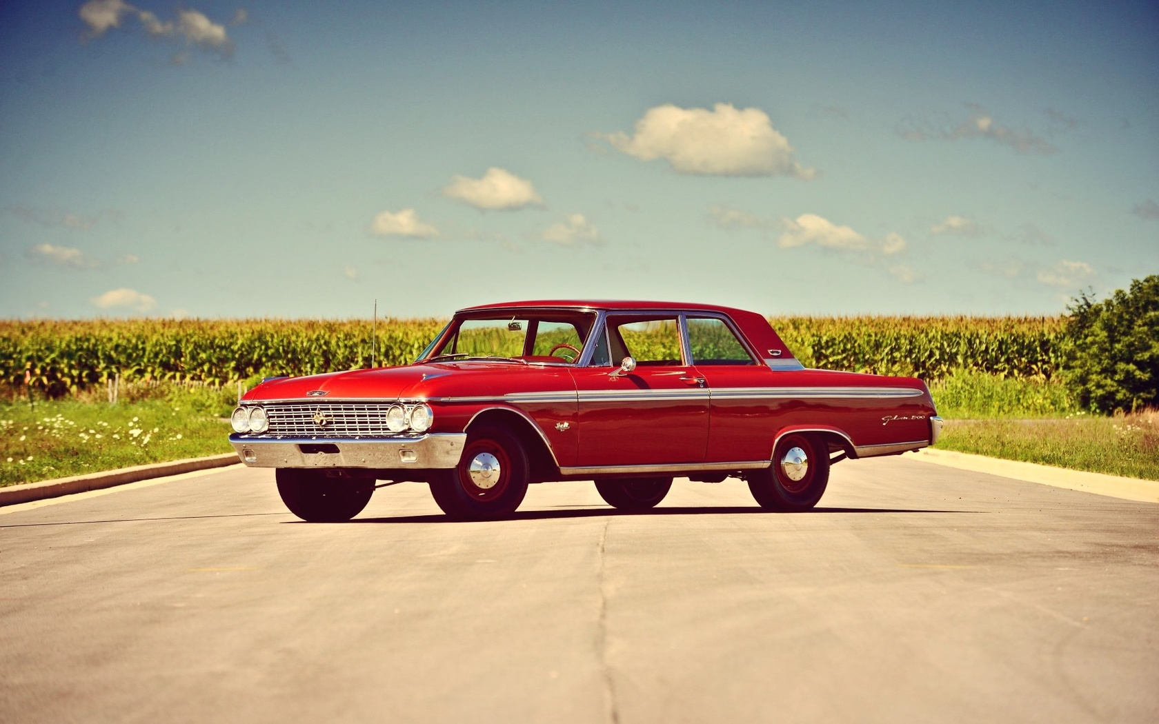 american, classic, car, ford