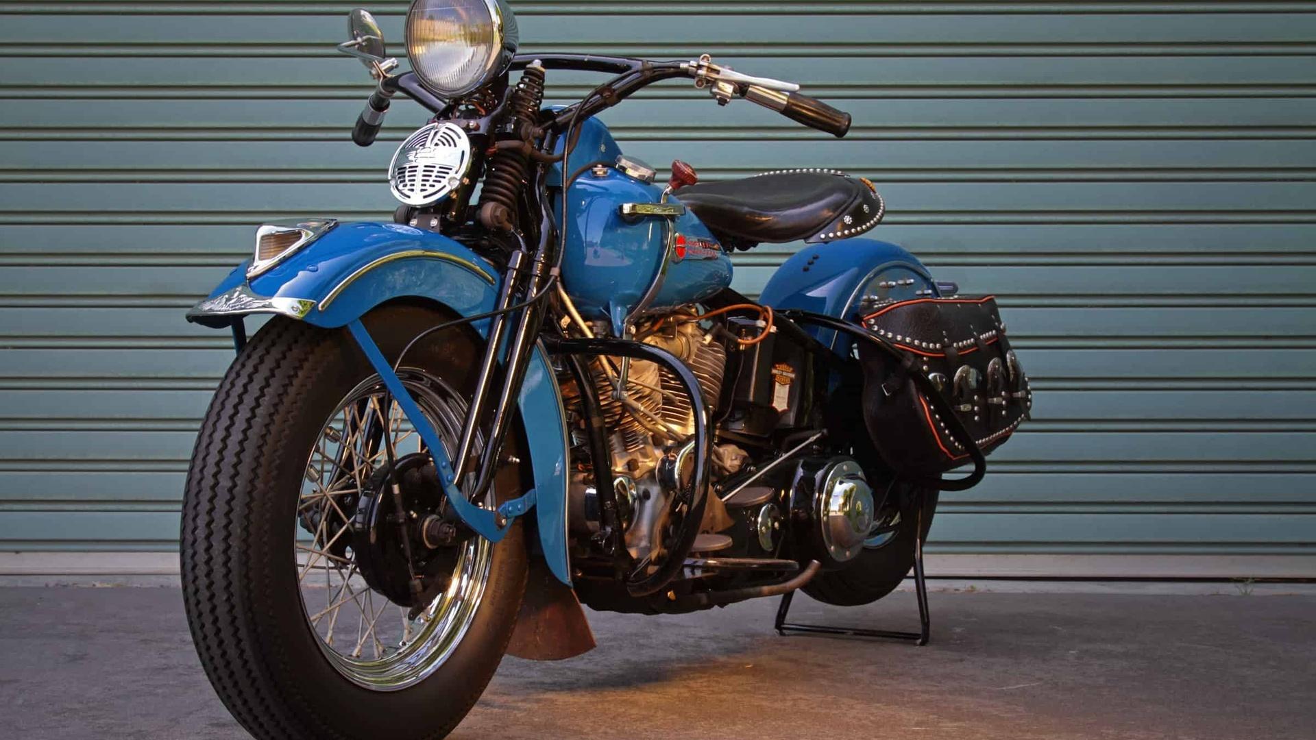 harley davidson, мотоцикл, байк, 1948