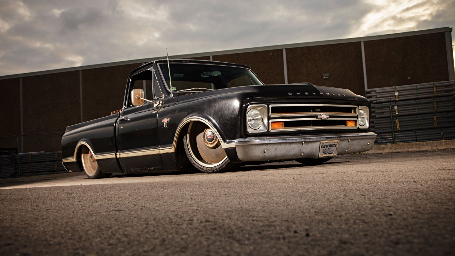 chevrolet, c10, pickup, 1967, fleetside