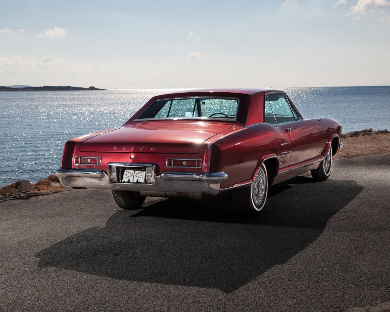american, classic, car, buick, riviera
