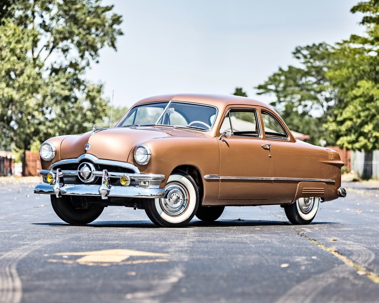 ford, deluxe, coupe, 1950