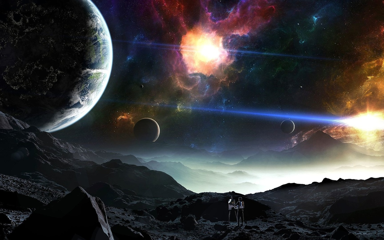 космос, обои для рабочего стола