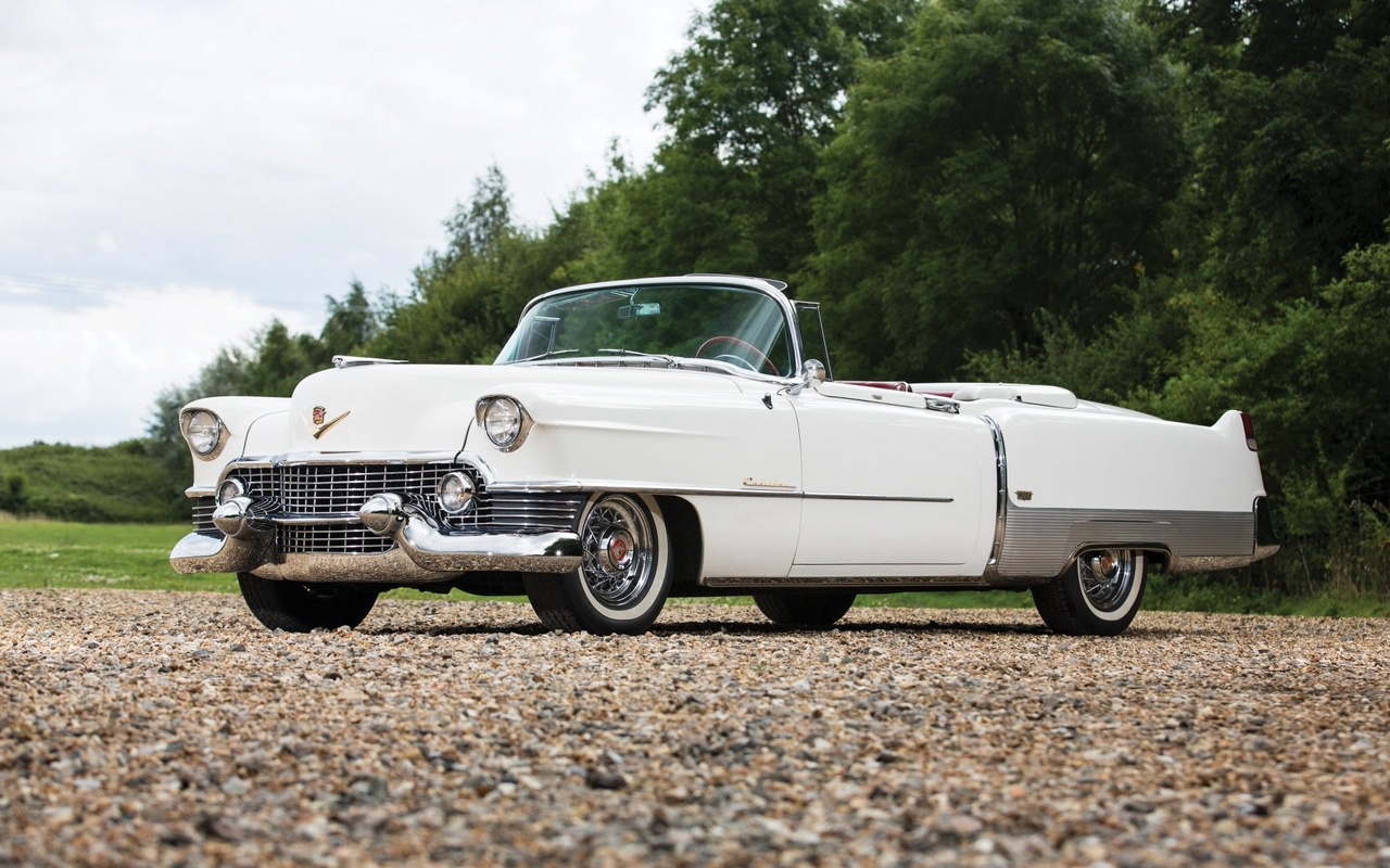 cadillac, eldorado, 1954, convertible