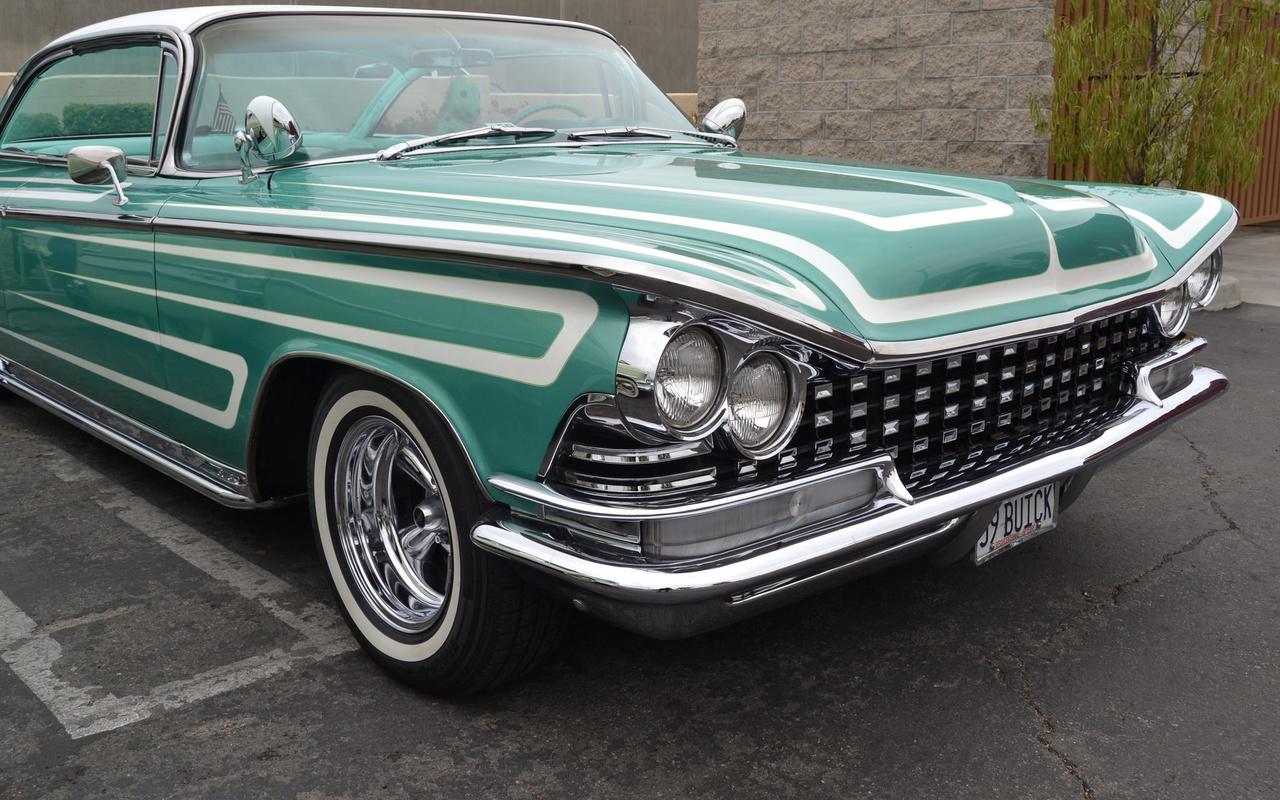 american, classic, car, buick, 1959