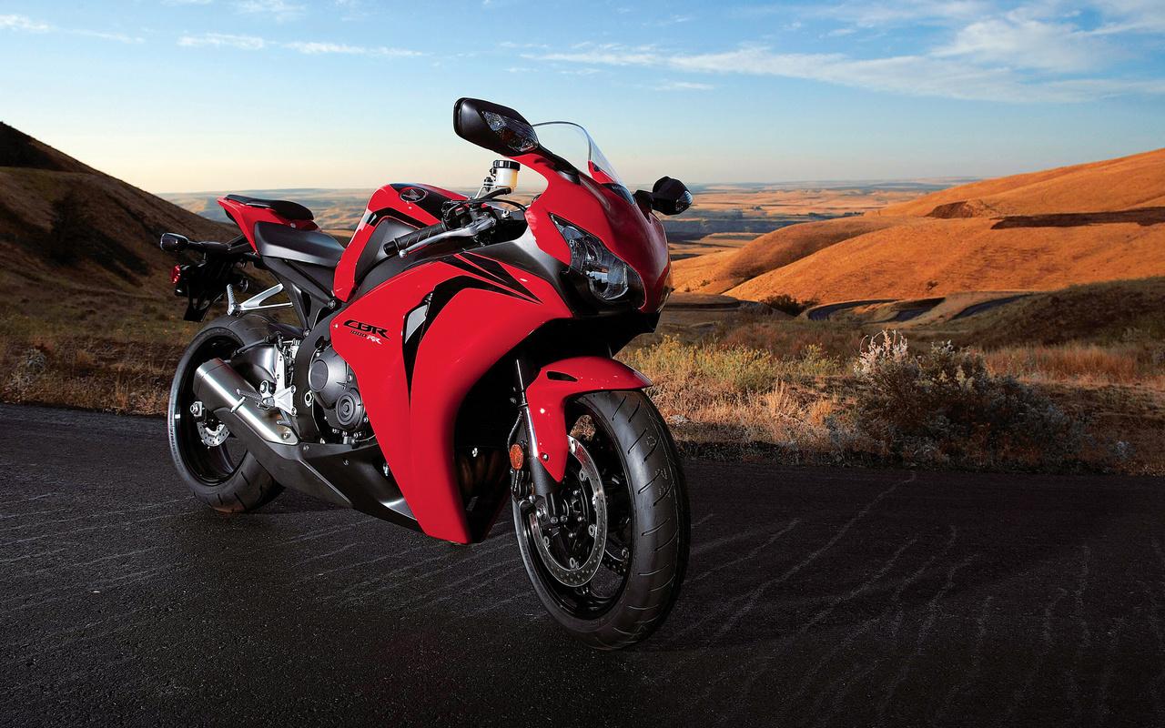 motorcycle, road, honda, cbr, 1000