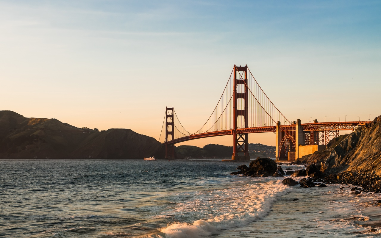golden gate, bridge, сан-франциско