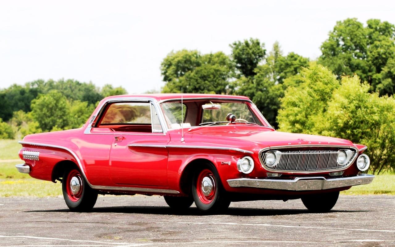 american, classic, car, dodge, dart