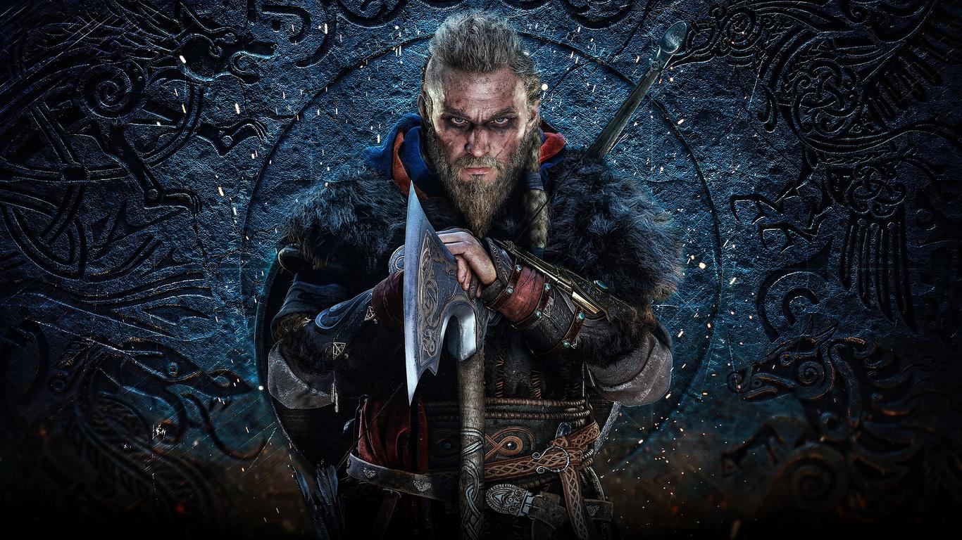 assassins creed, valhalla, викинг, топор