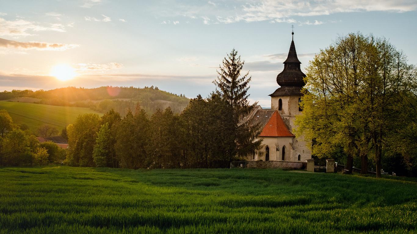 Чехия, храм, церковь