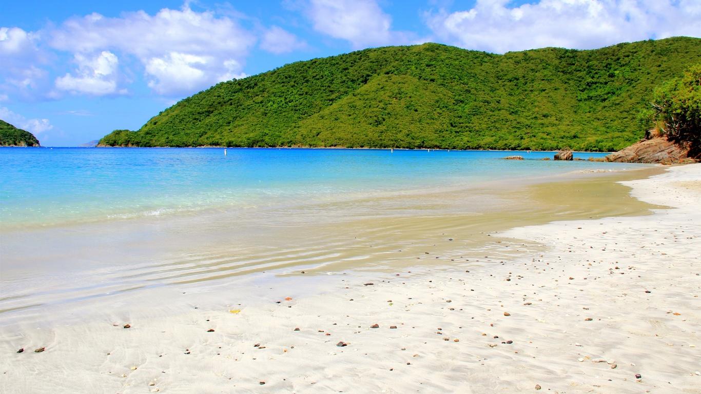 карибский бассейн, море, остров, пляж