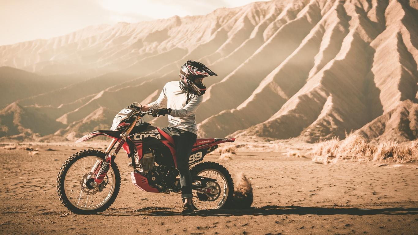 мотокросс, спорт, драйв, песок