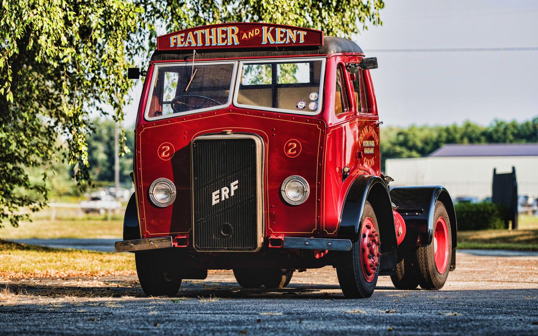 erf, c-series, d16, tractor unit, retro, cars, 1942, trucks