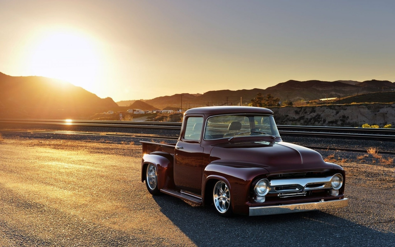 american, classic, car, ford, f-100