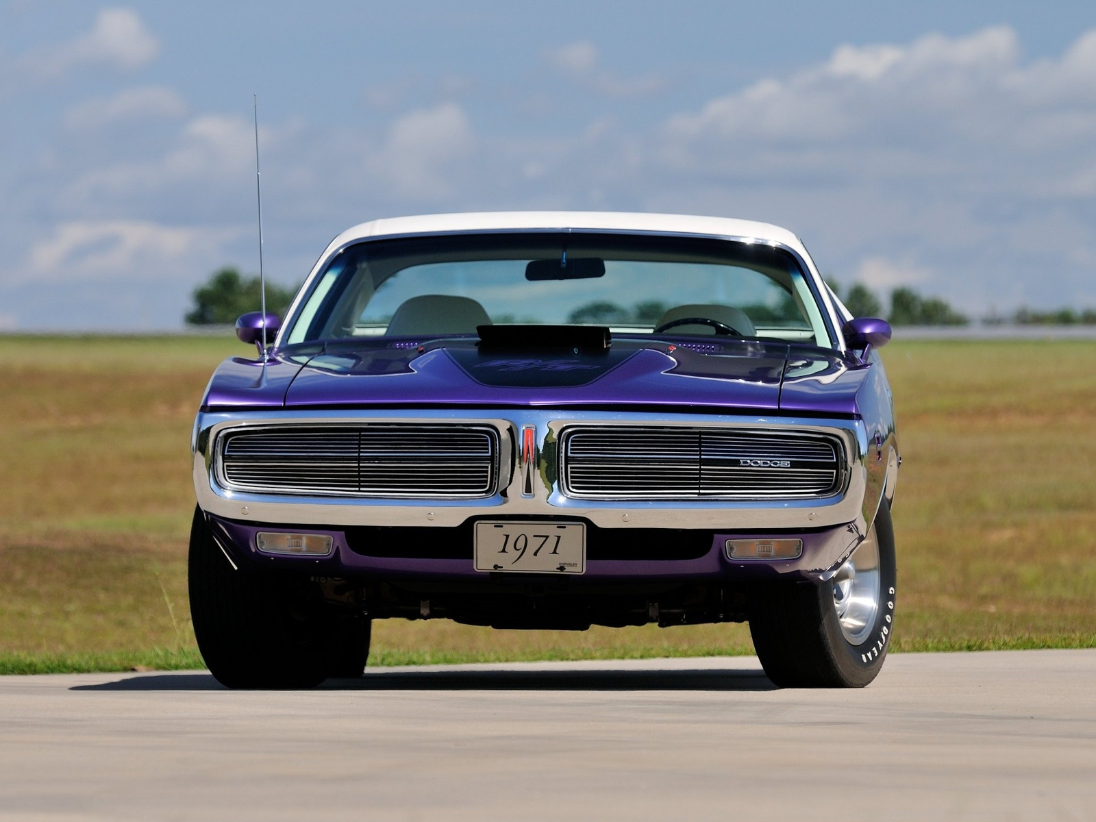 dodge, charger, 1971