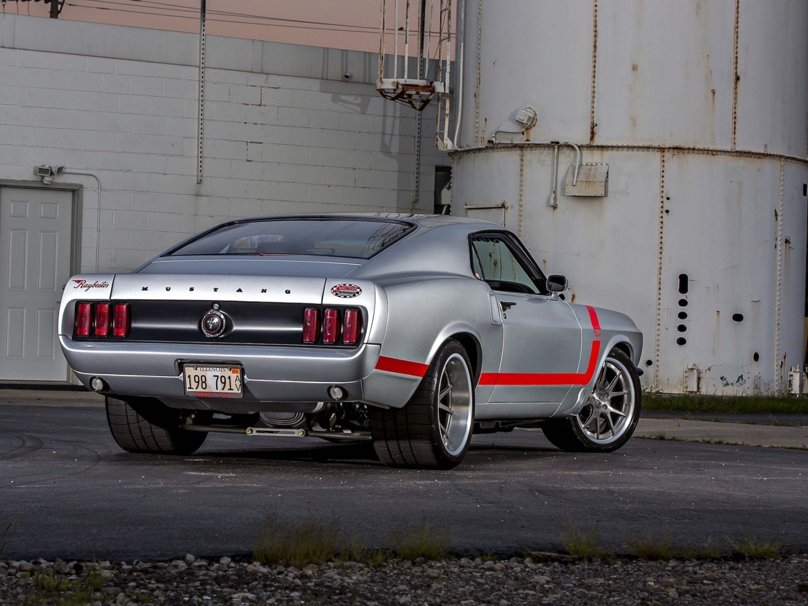 ford, mustang, 1969