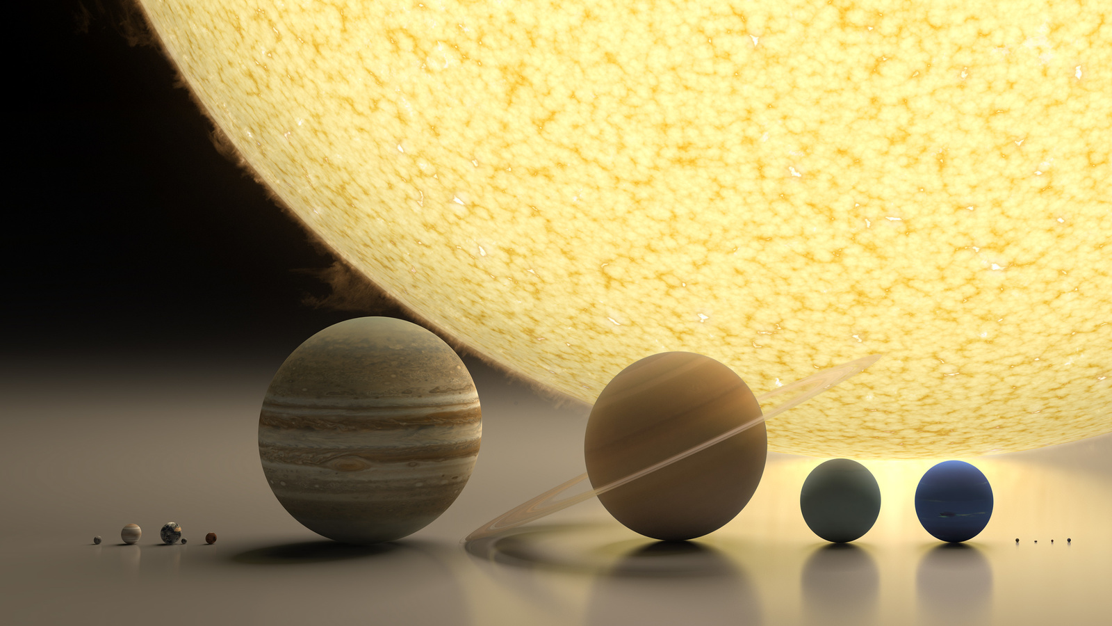 макеты, планеты, 3d