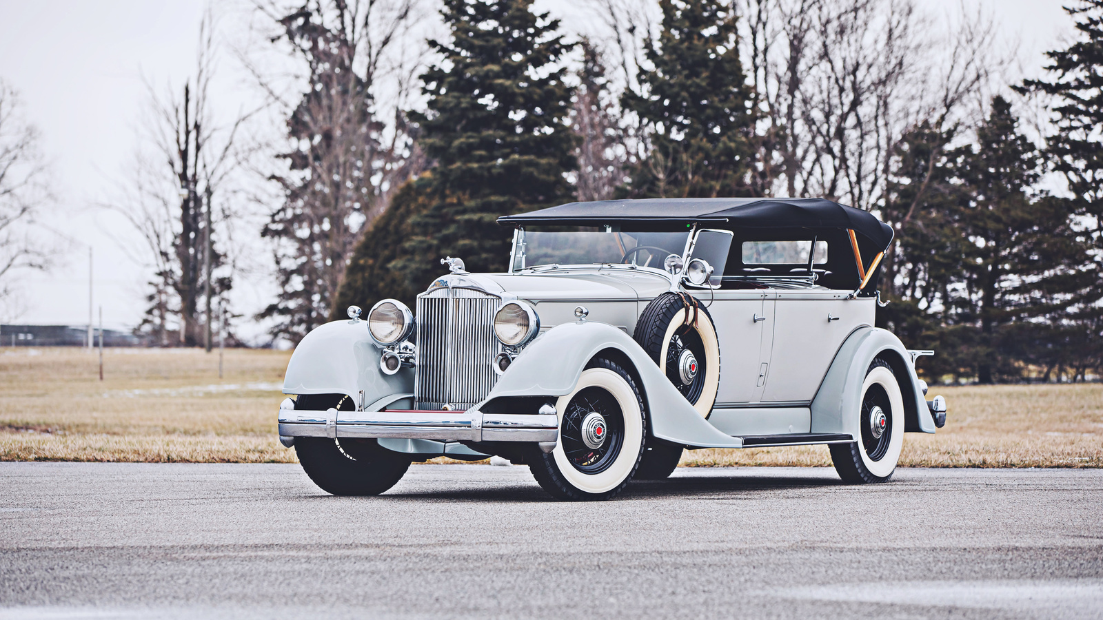 phaeton, retro cars, 1934, cars, luxury cars, packard