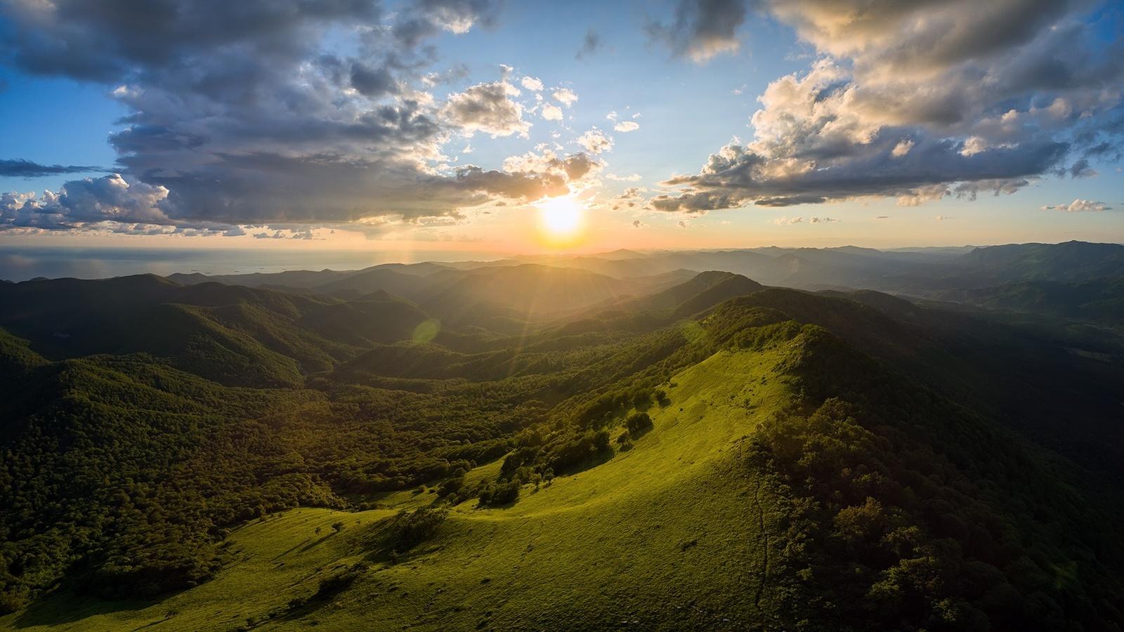природа, горы, кавказ