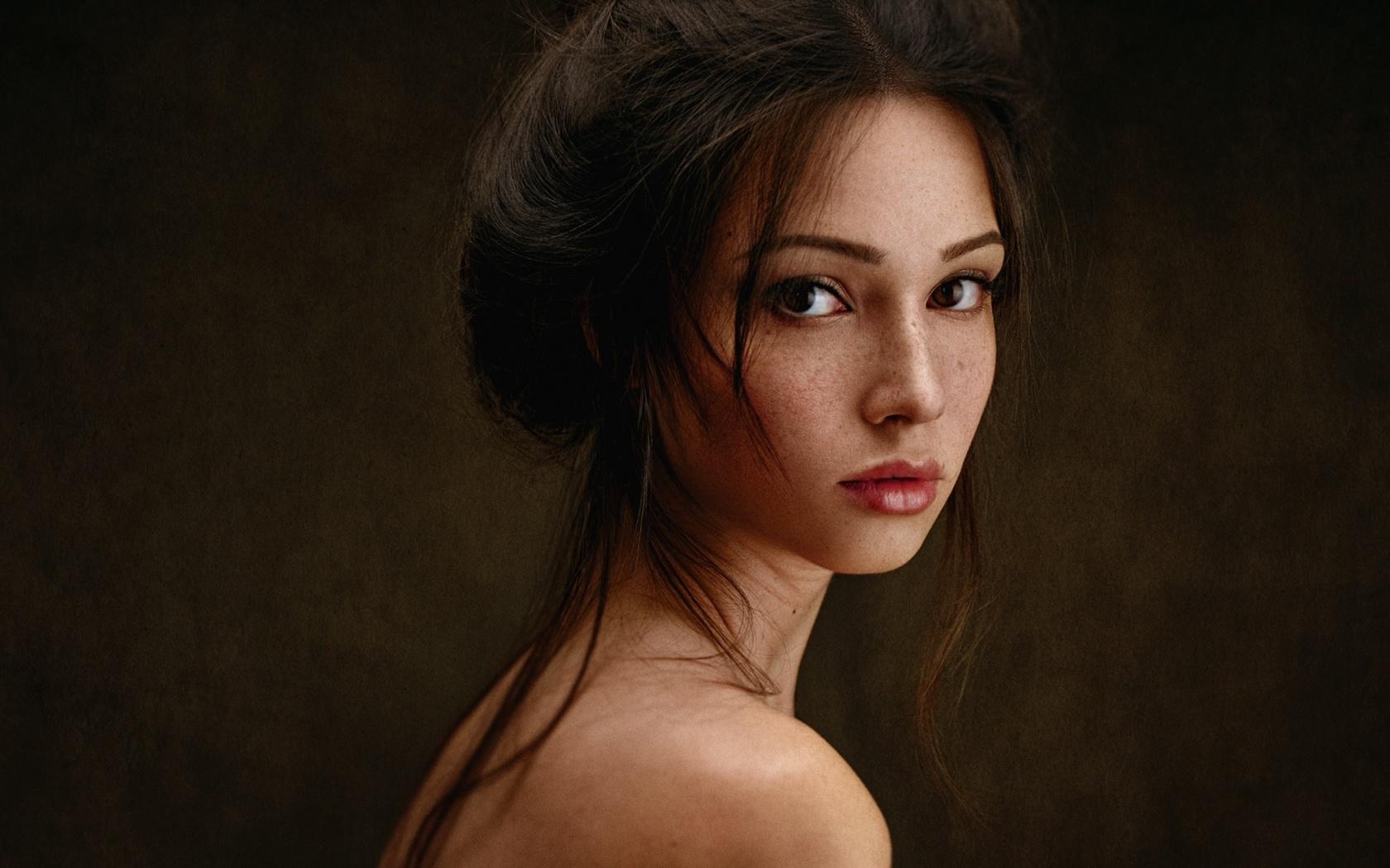 девушка, портрет, мария волох