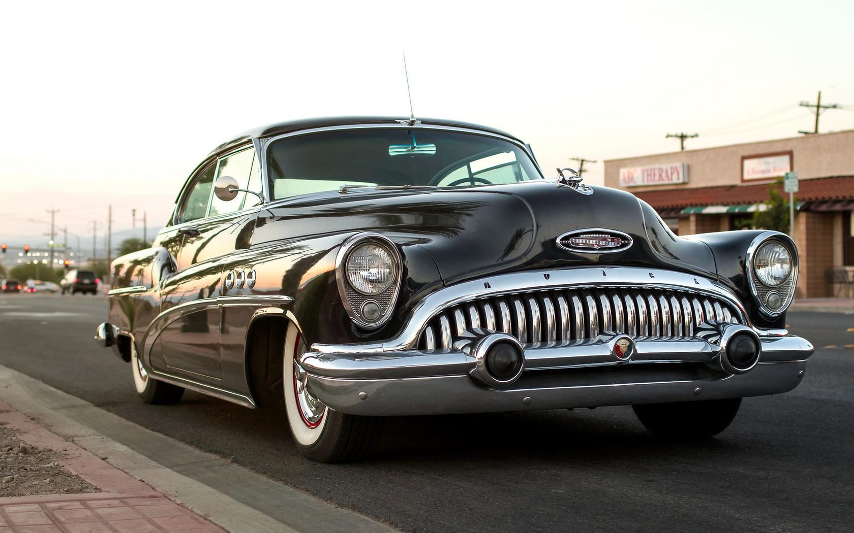 american, classic, car, buick