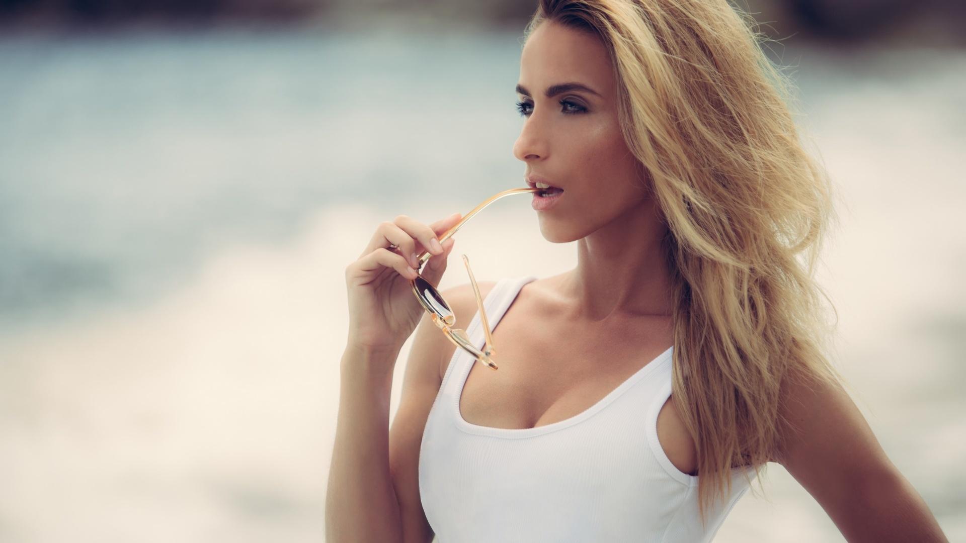 cara mell, девушка, блондинка