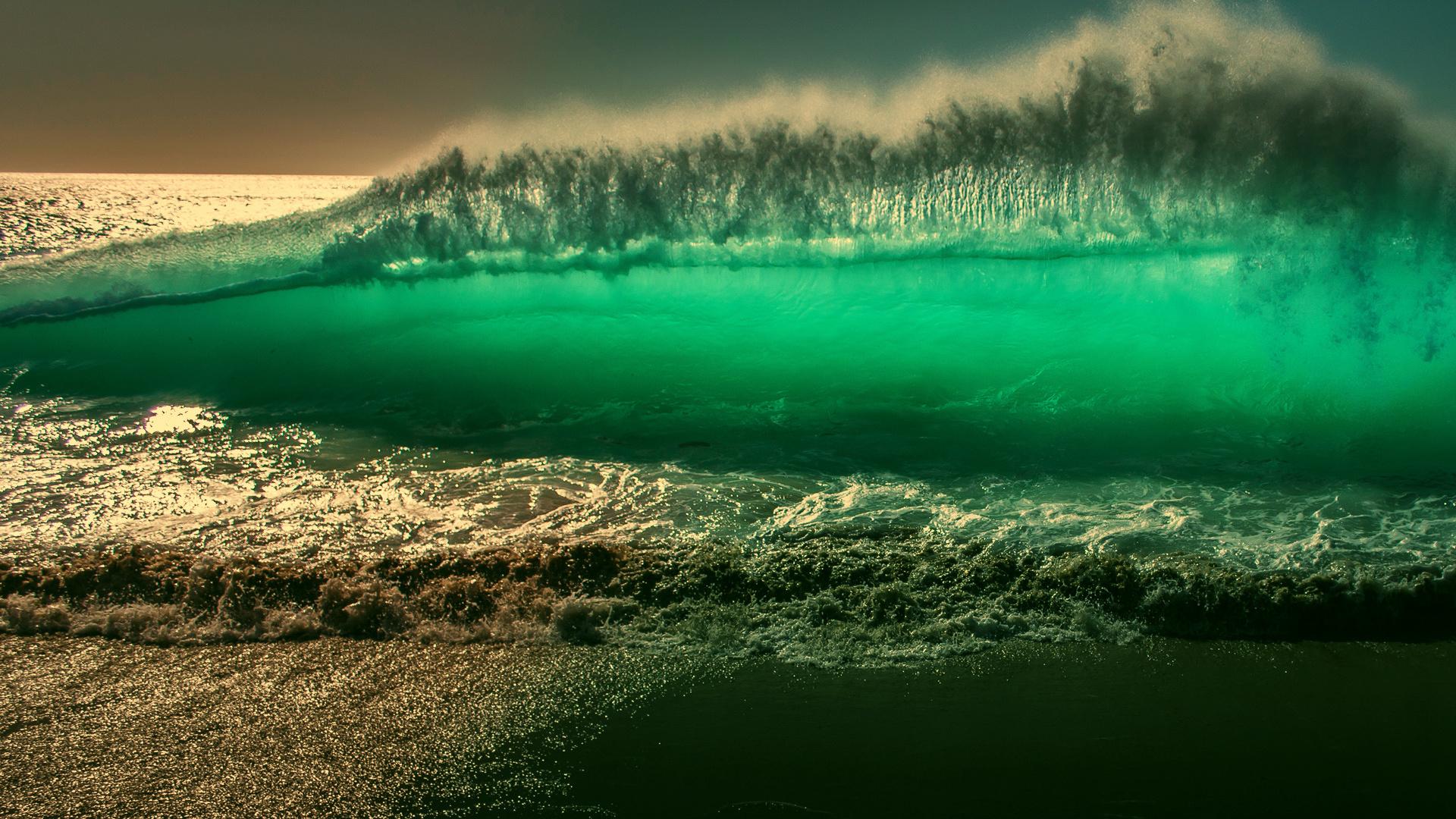 океан, волна, прибой