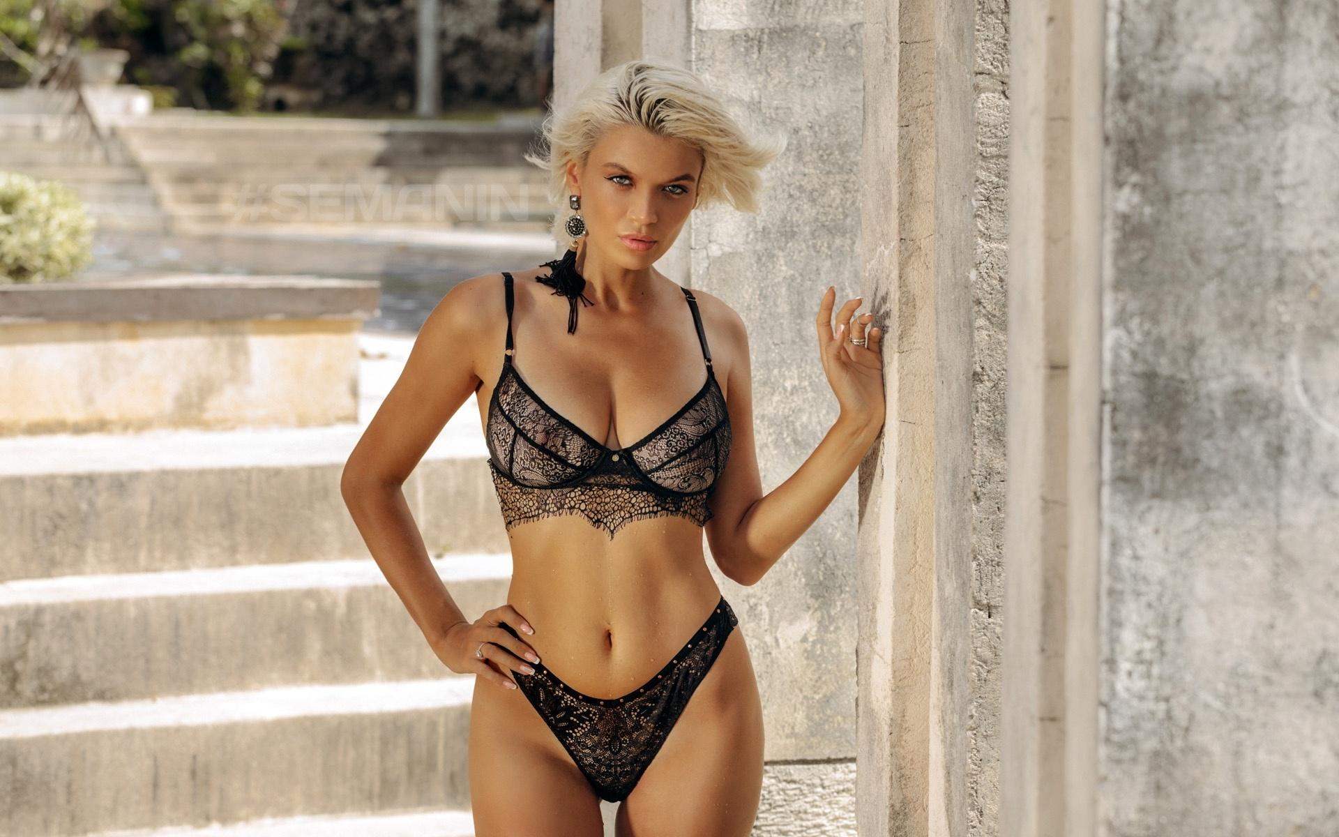 девушка, модель, поза, блондинка, александр семанин