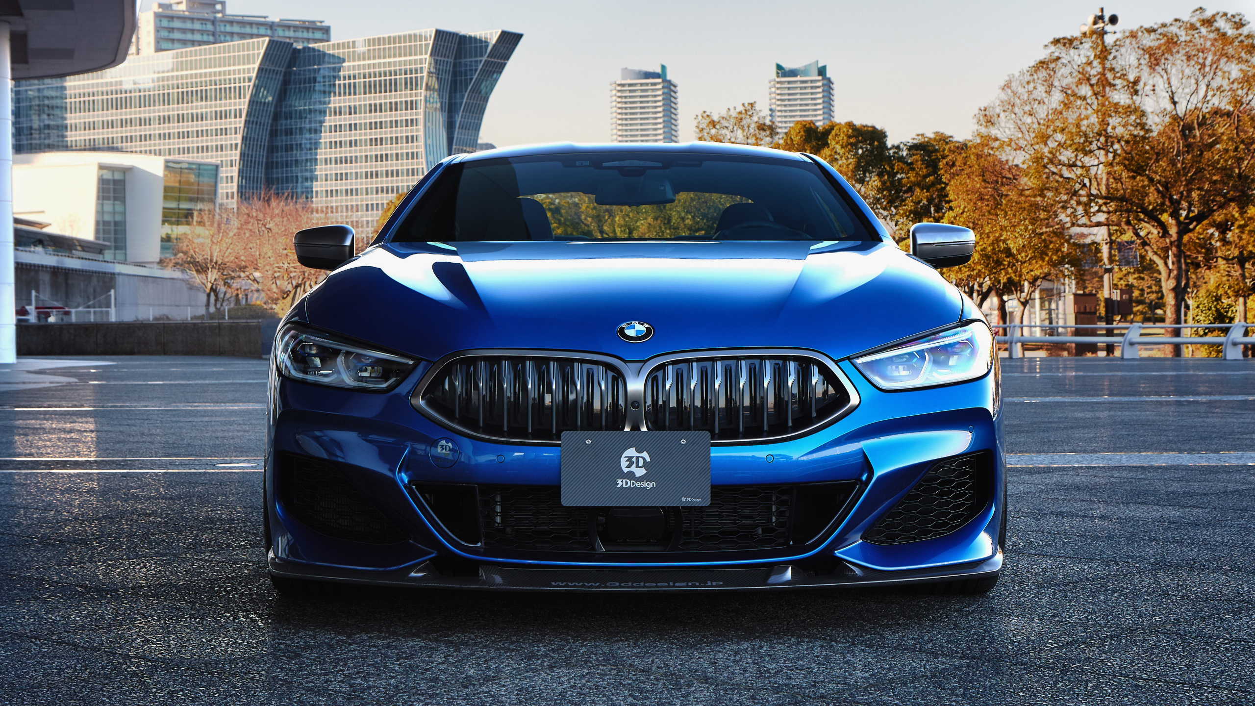 3d design, bmw, m850i, xdrive, coupe, 2020, вид спереди