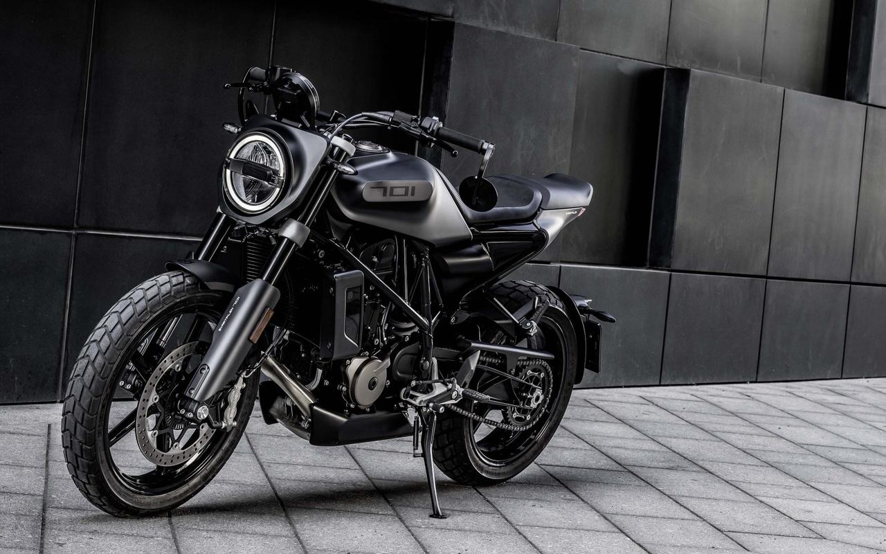 мотоцикл, байк, серый фон