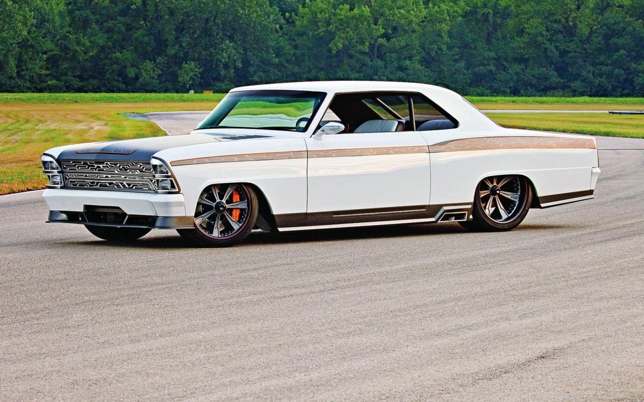 american, classic, car, custom, pontiac