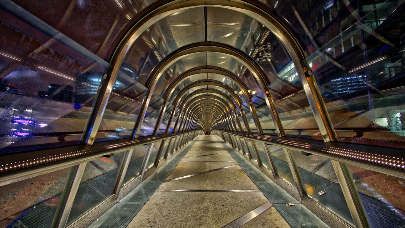туннель, арка