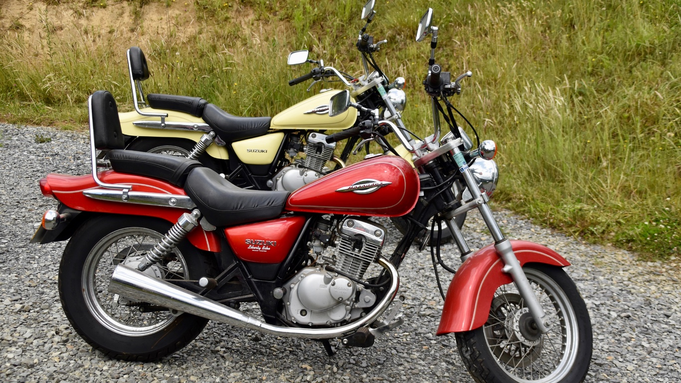 suzuki, сузуки, мотоцикл, природа