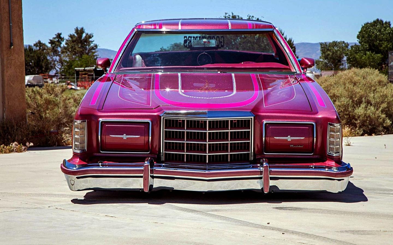 ford, thunderbird, custom, lowrider