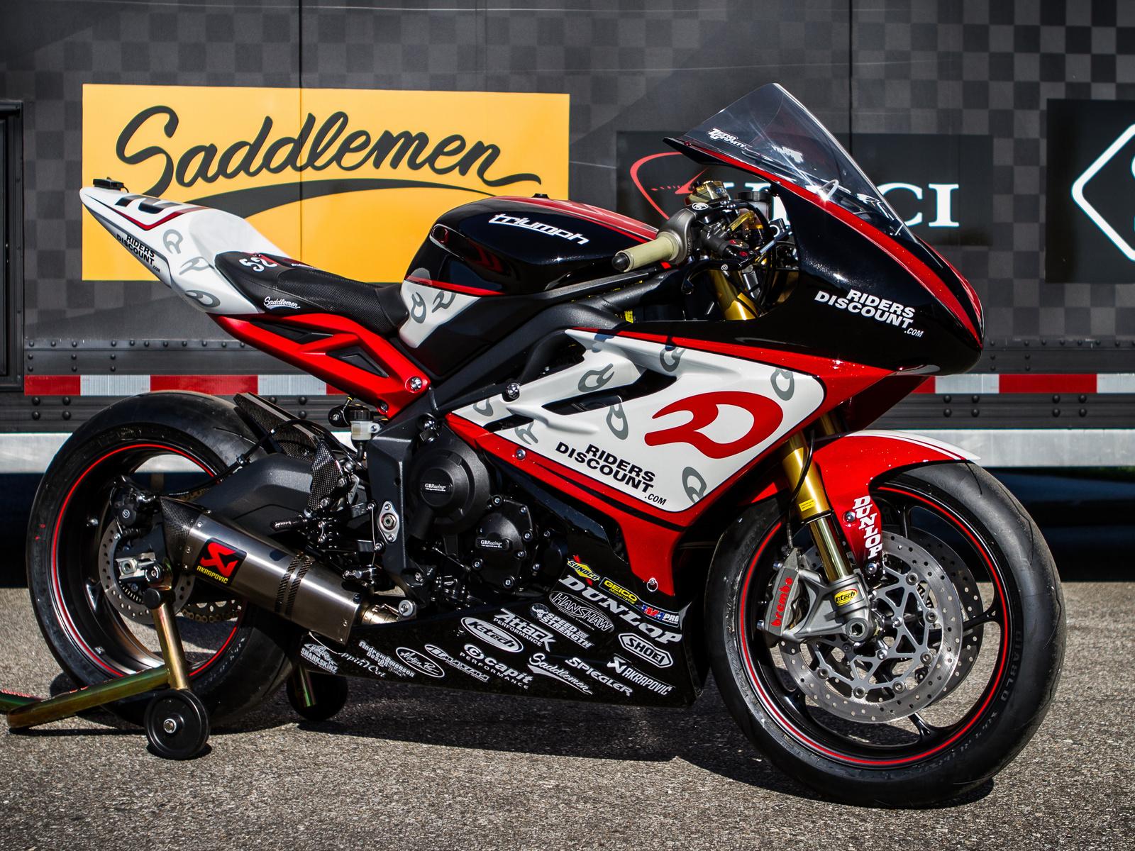 jake zemke, joins riders, discount, triumph, team, мотоцикл, байк