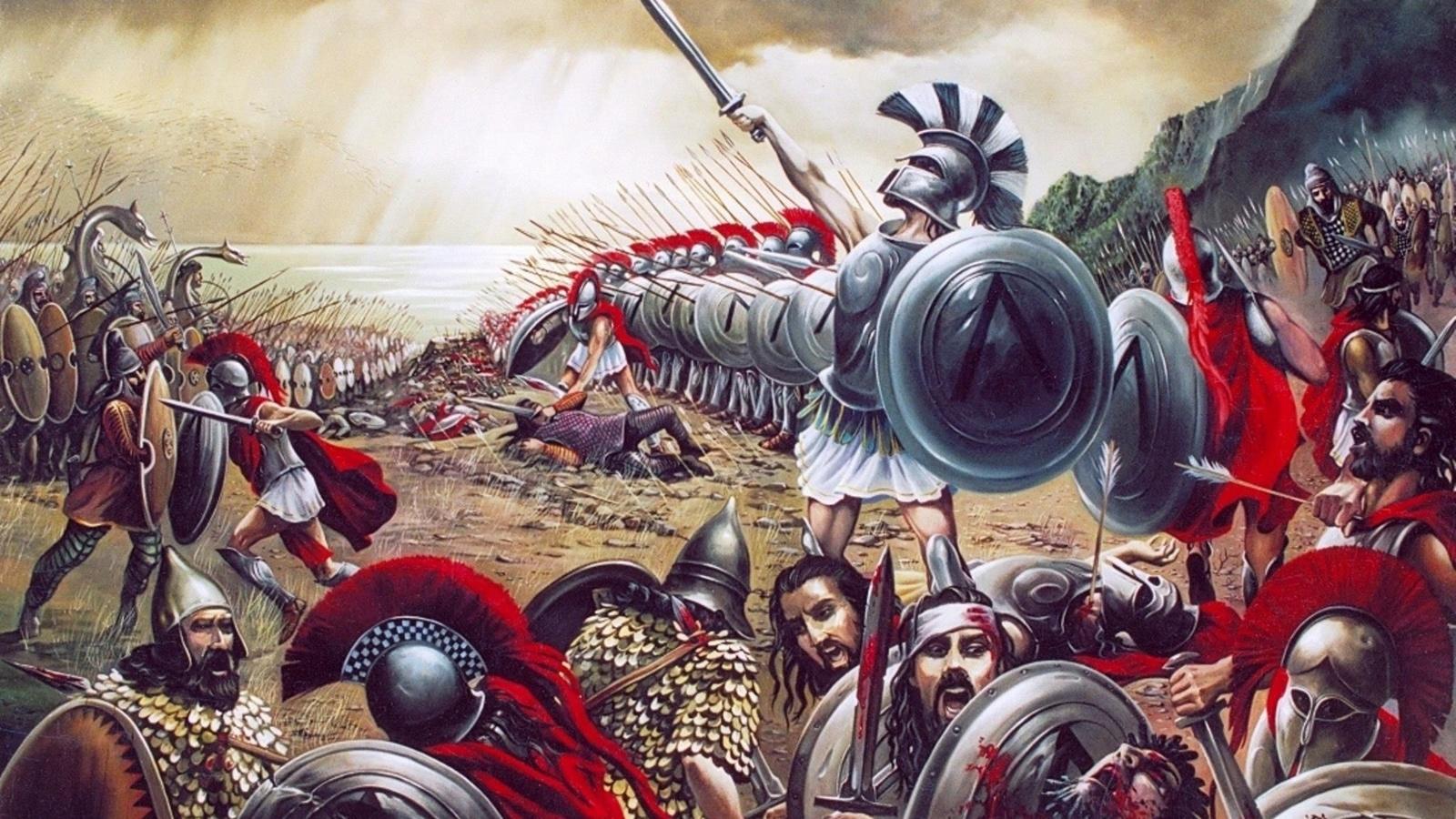 карина, греко-персидские война, фермопильское сражение