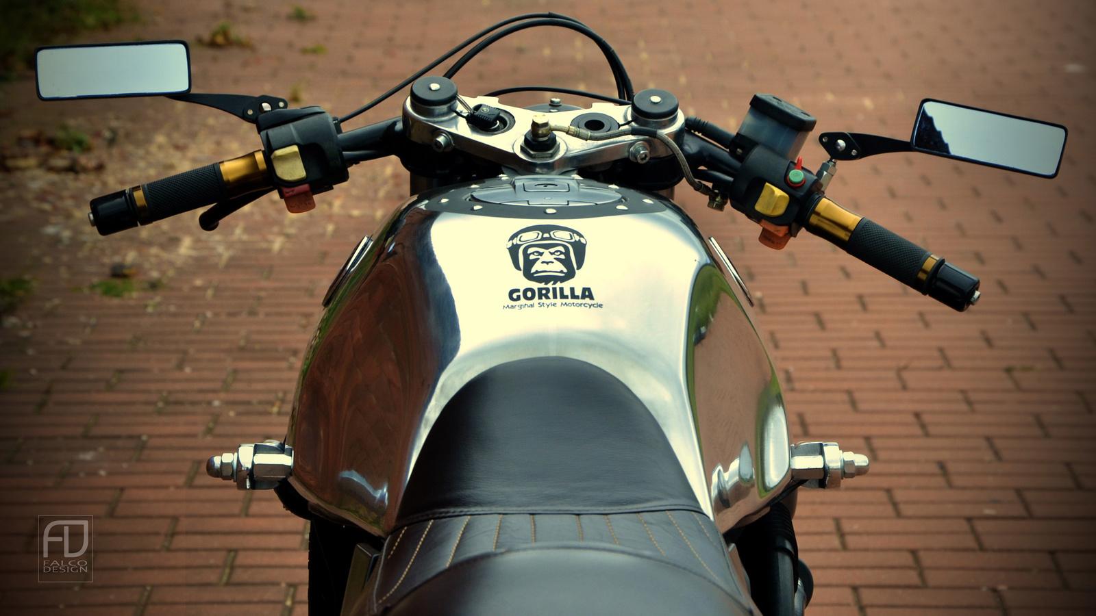 мотоцикл, байк, bmw ,k100 ,gorilla