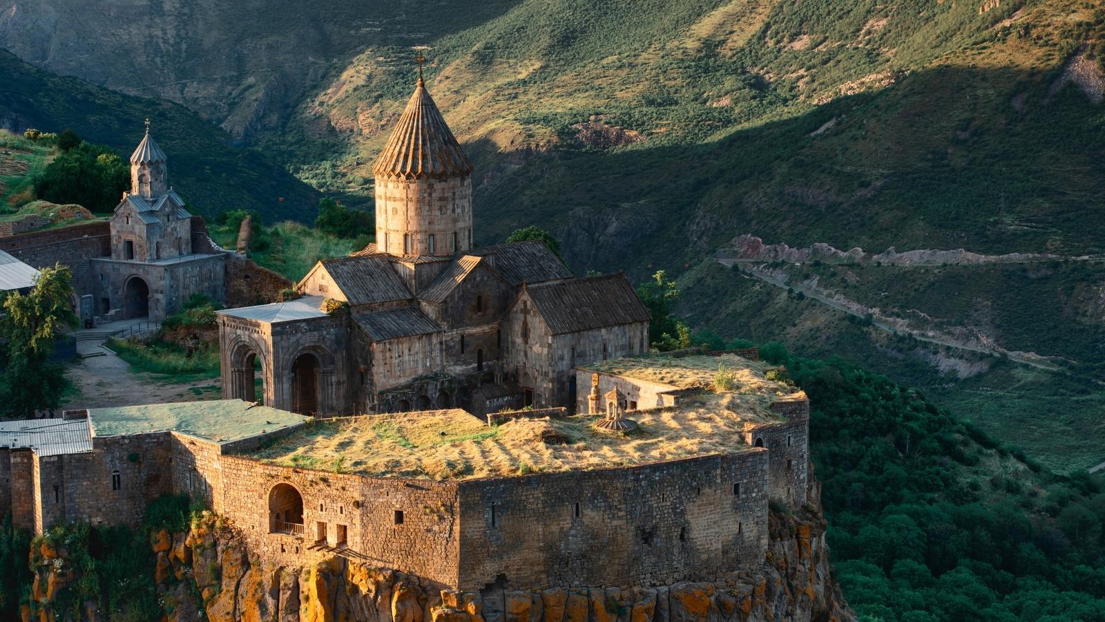природа, пейзаж, горы, армения, татевский монастырь