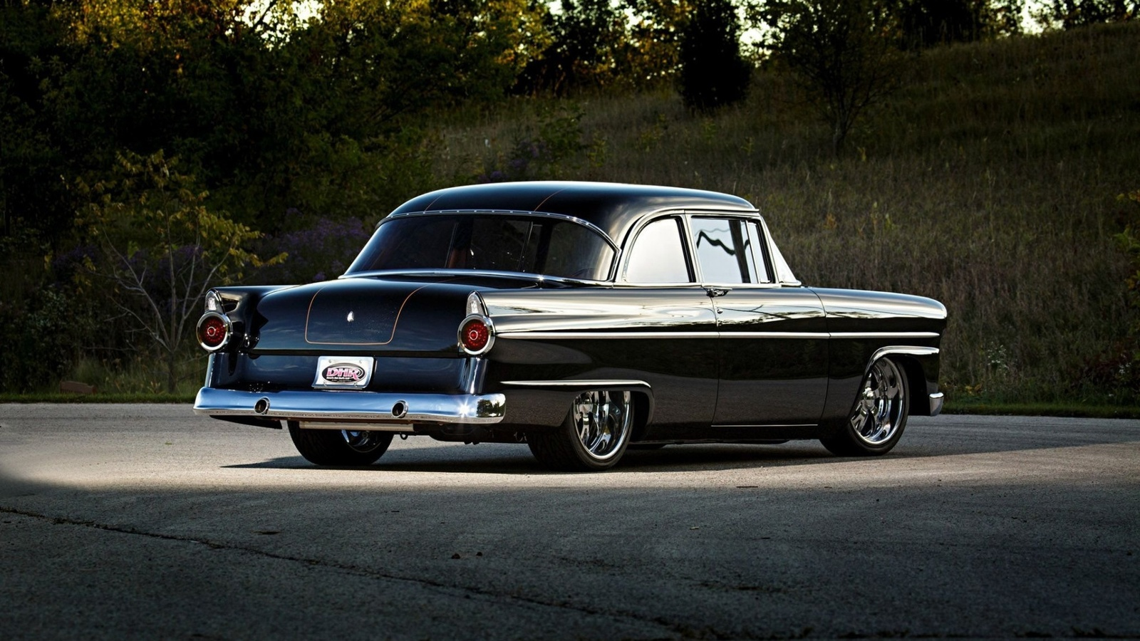 ford, coupe, custom