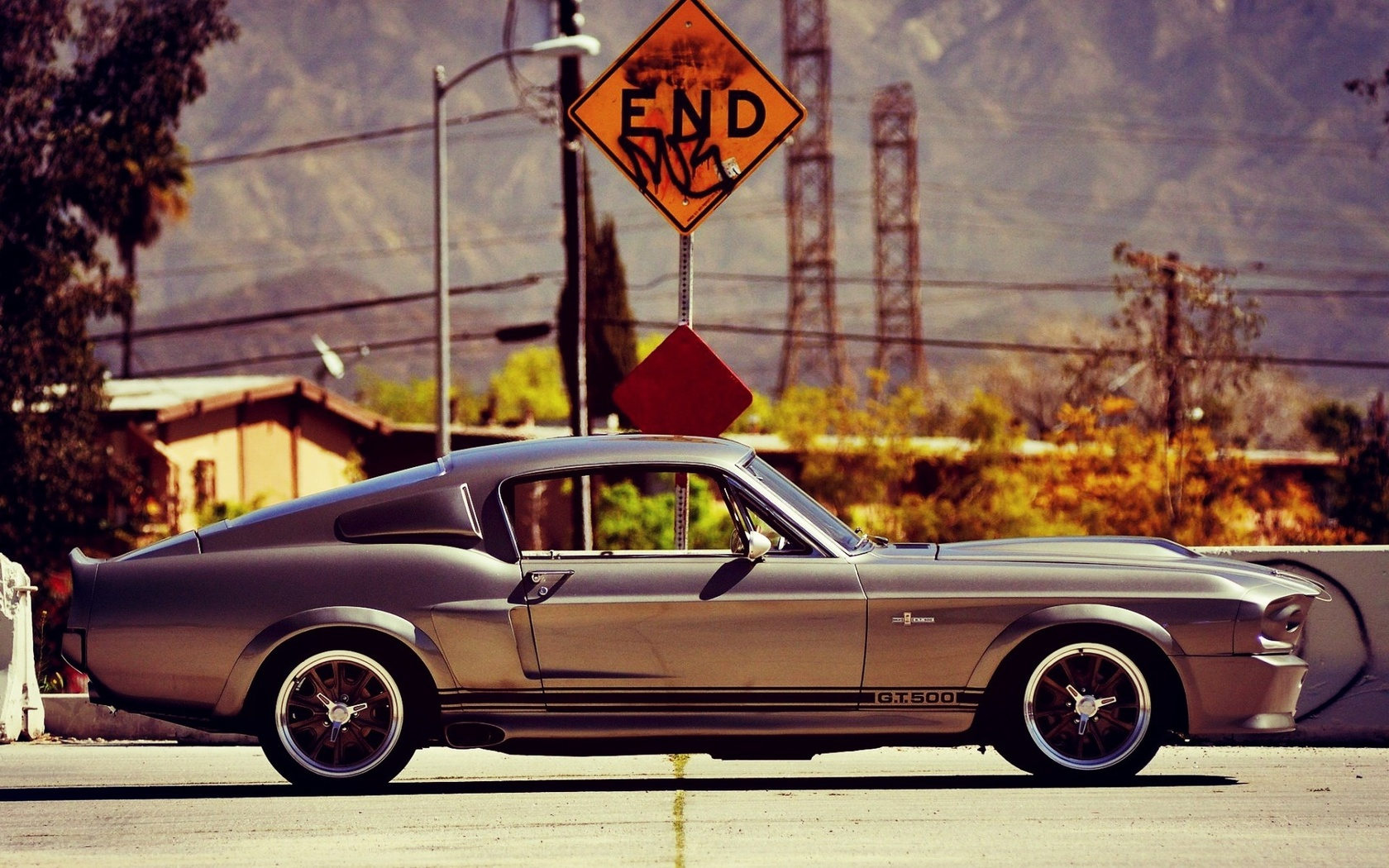 ford, mustang, gt, 500