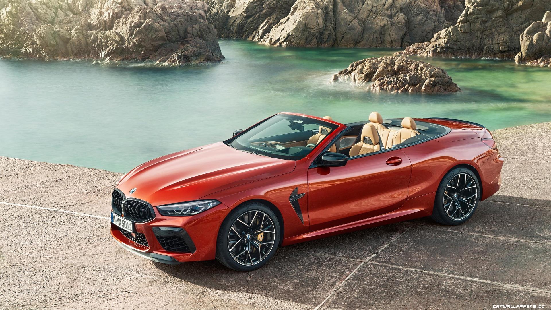 bmw, m8, competition, cabrio, worldwide, кабриолет, красный