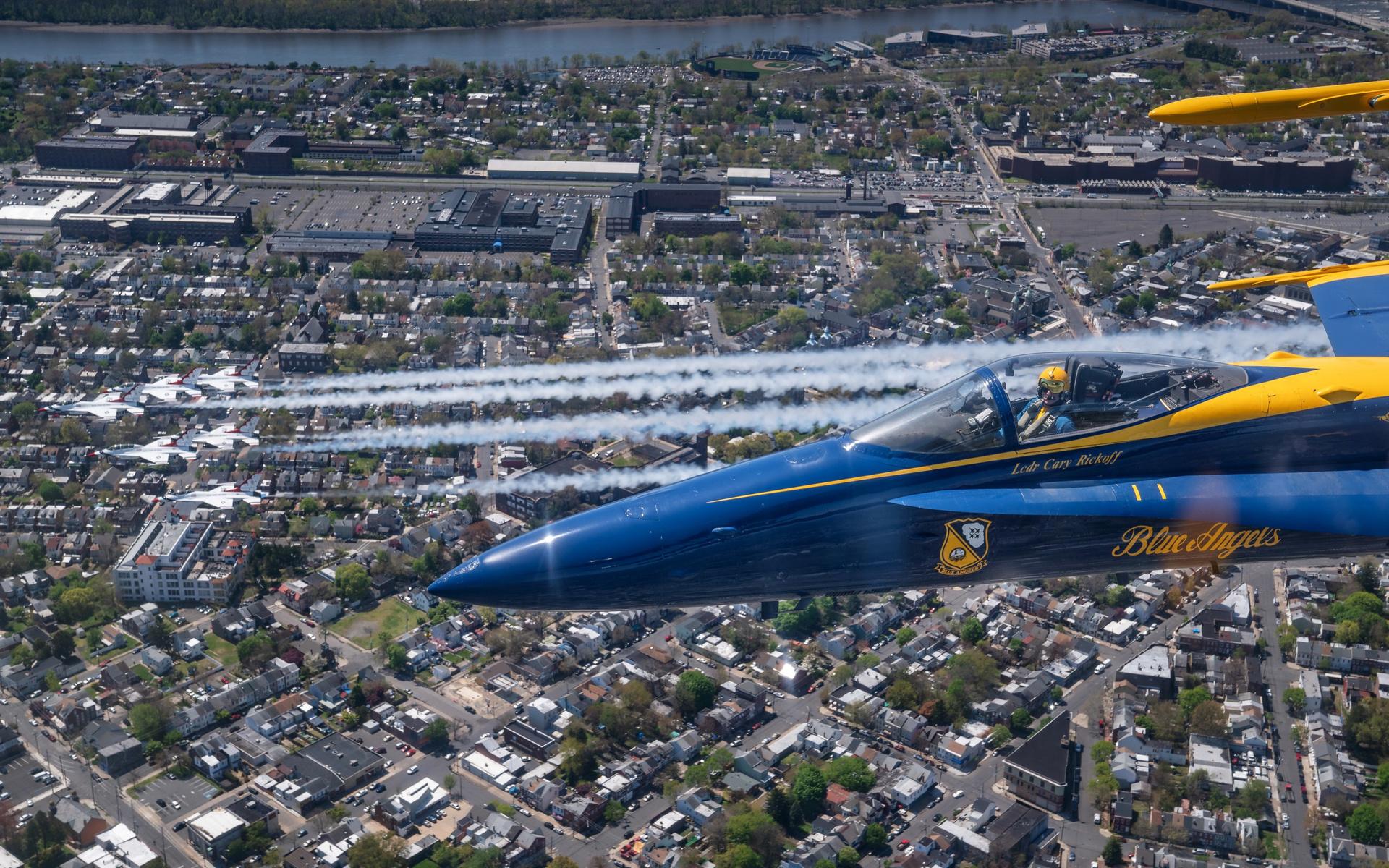 blue angels, mcdonnell douglas fa-18 hornet, flight demonstration squadron, united states navy, fa-18
