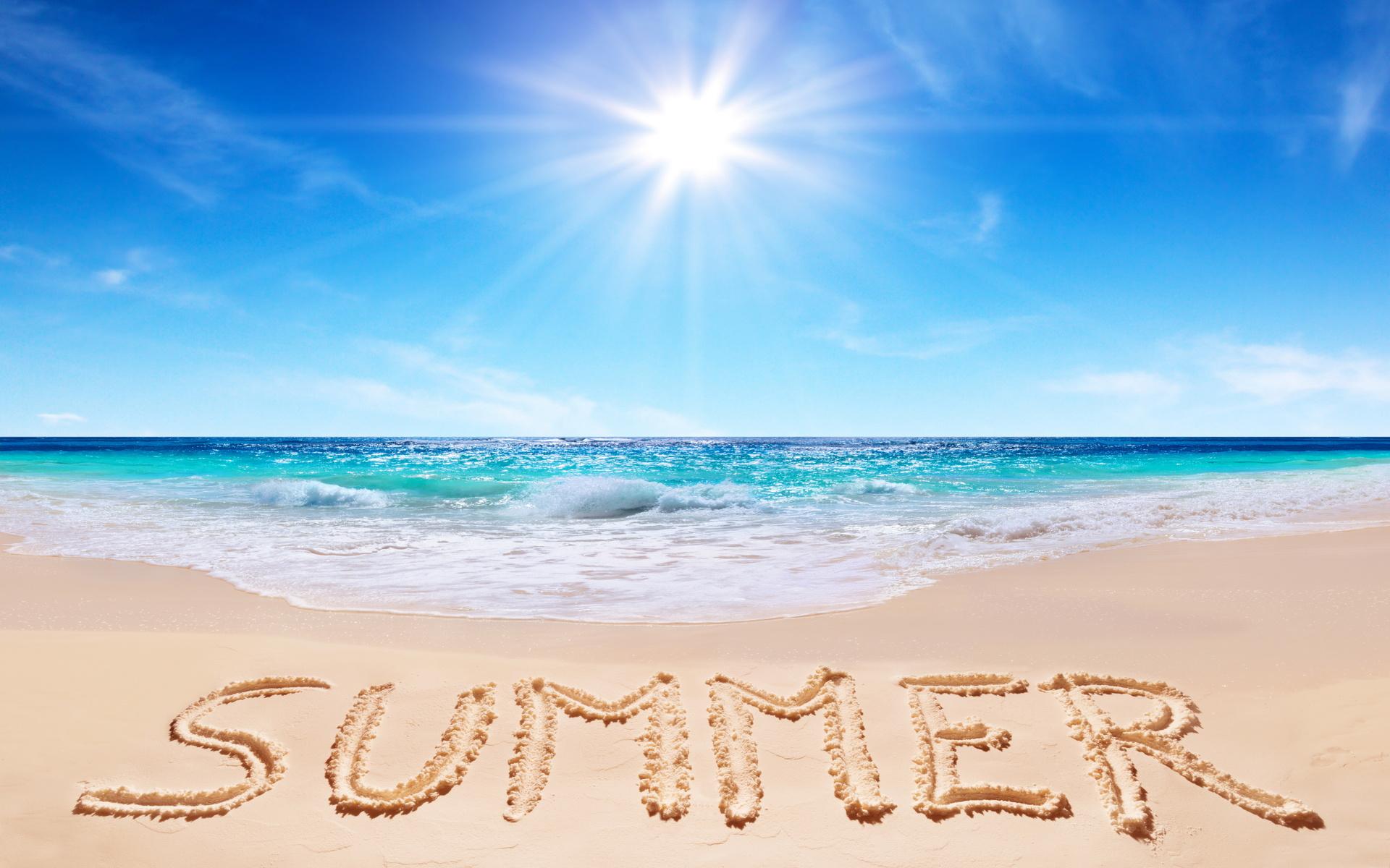 summer, лето, берег, пляж, песок, солнце