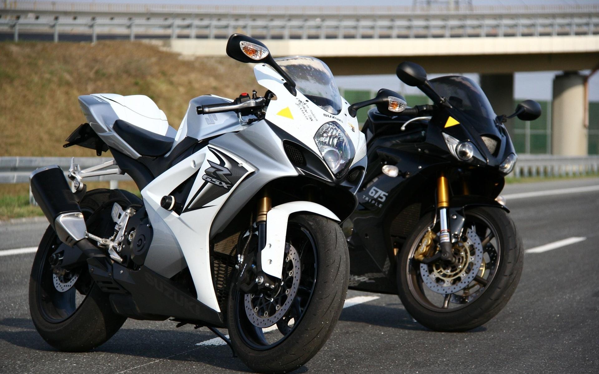suzuki, triumph, daytona, 675, мотоцикл, байк