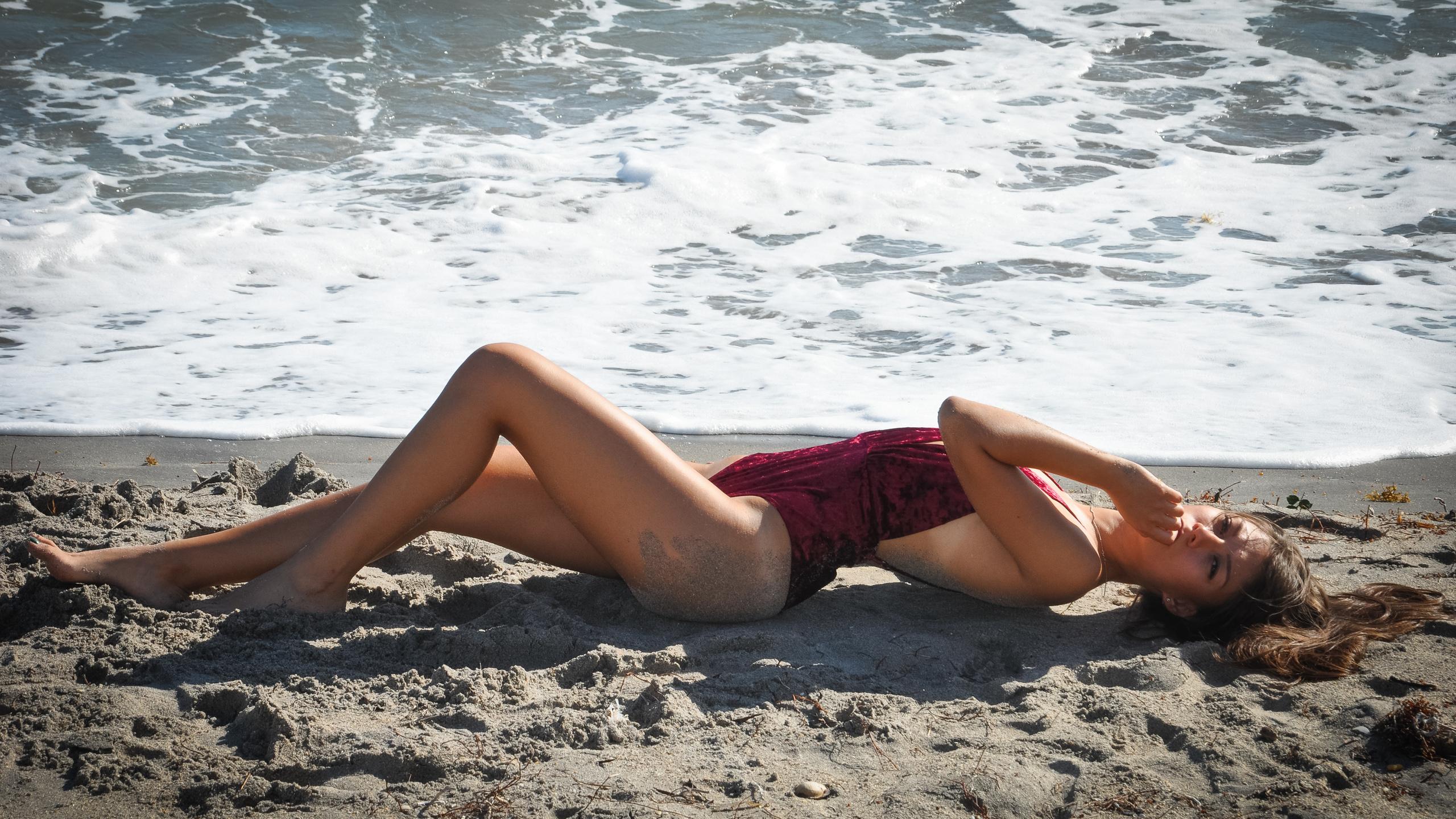 julia kushniruk, девушка, берег, море, песок