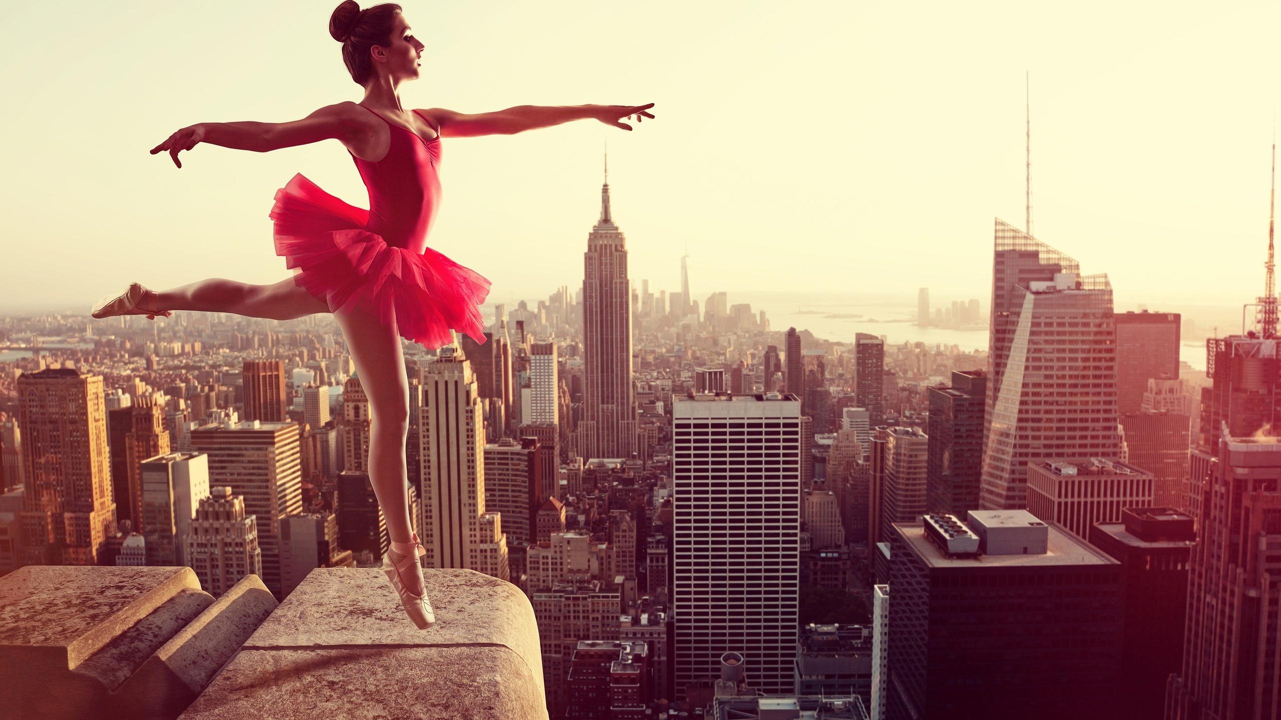 балерина, полет, нью-йорк, сша