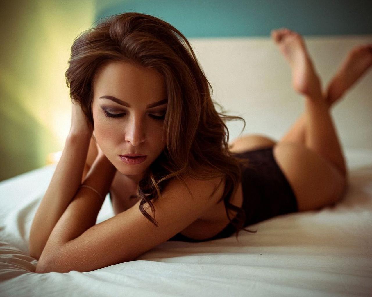 девушка, модель, позирует, chris kucil